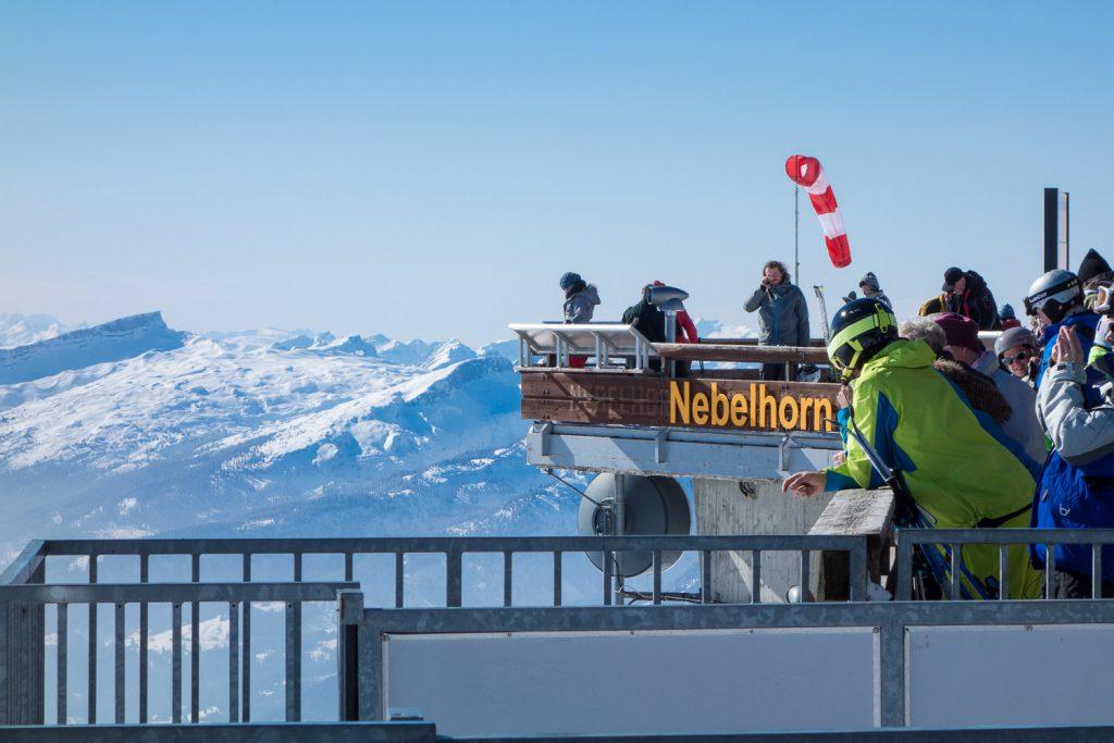 Die Gipfelstation am Nebelhorn