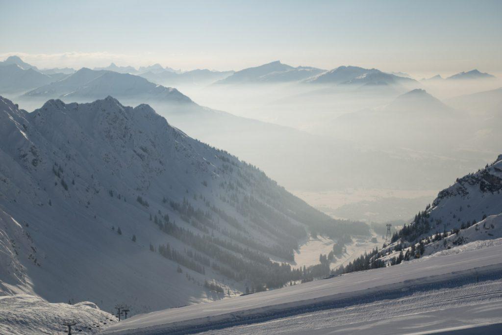 Nebel im Tal –Topsicht am Berg
