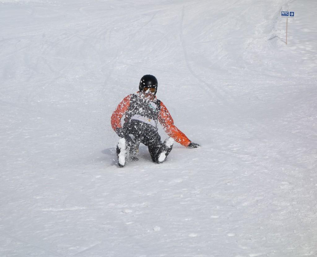 Training für das Bergscout-Finale im NTC Funpark