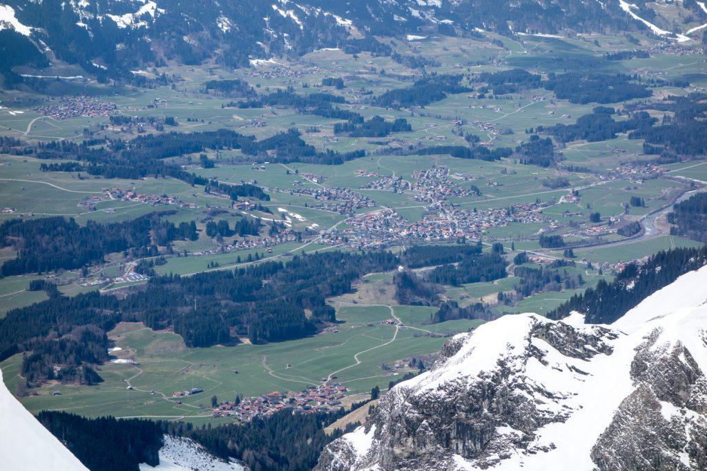 Fischen im Allgäu (von Nebelhorn)