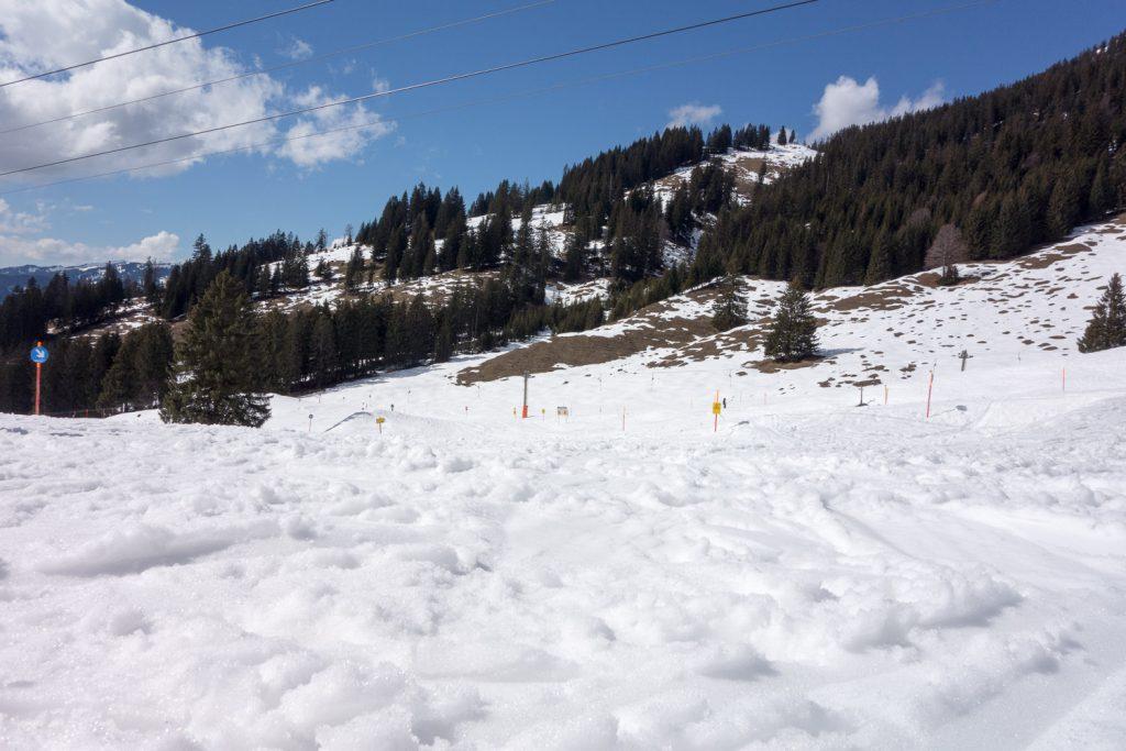Der Frühling klopft an: am Nebelhorn