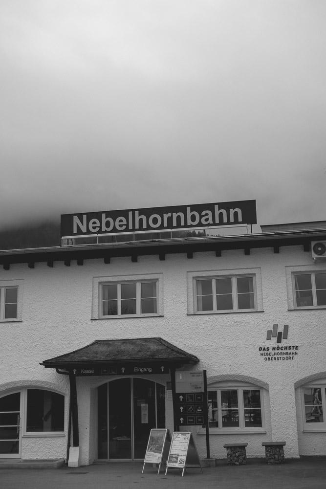 Talstation der Nebelhornbahn
