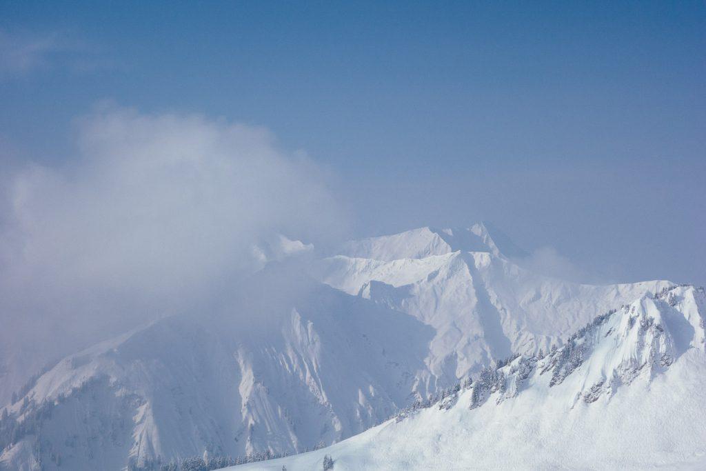 Aufziehender Nebel am Walmendingerhorn