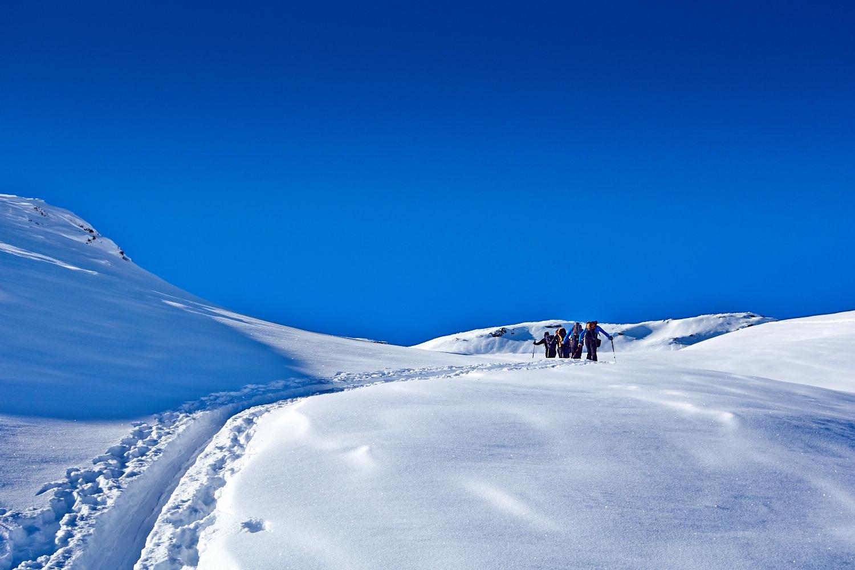 Grenzwertige Skitour aus vier Blickwinkeln