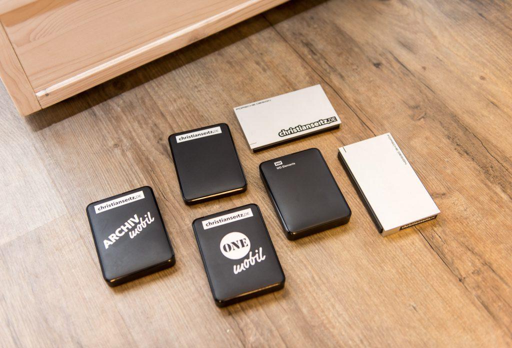 Modulare Datenablage unterwegs: größtenteils mit WD Elements Festplatten