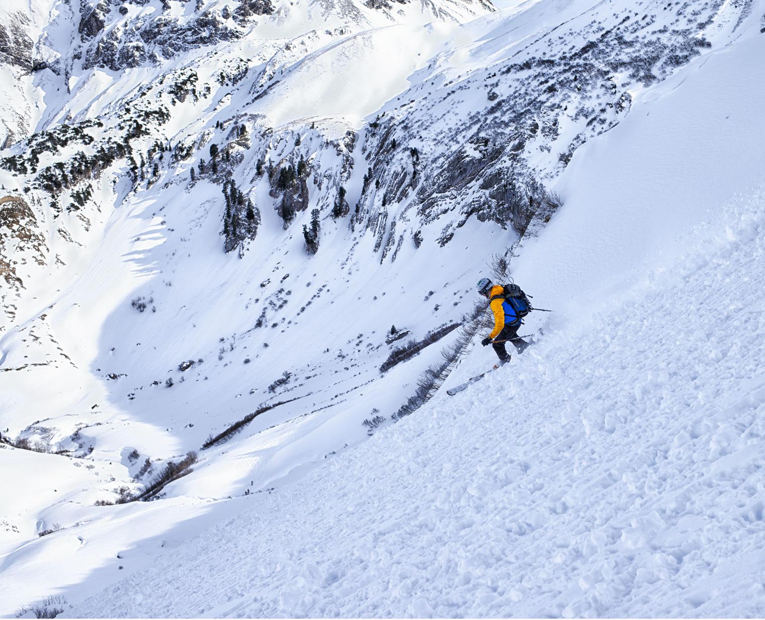 Auf Skitour zur Höferspitze