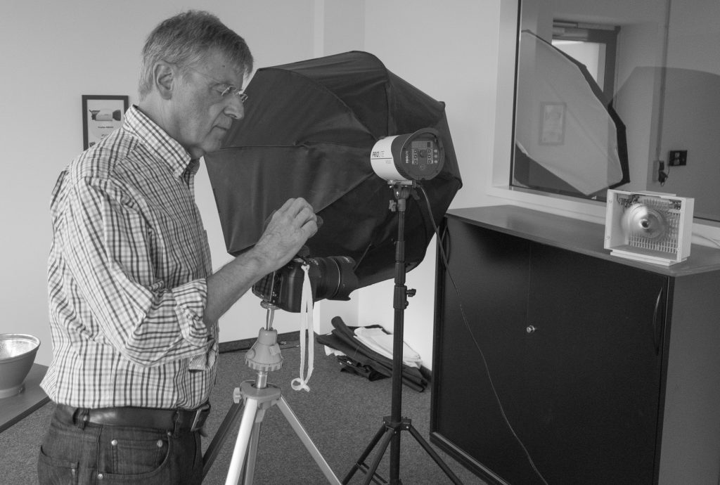 Dipl.-Ing. Joachim Renschke konfiguriert den HotSync-Auslöser für meine Nikon D800