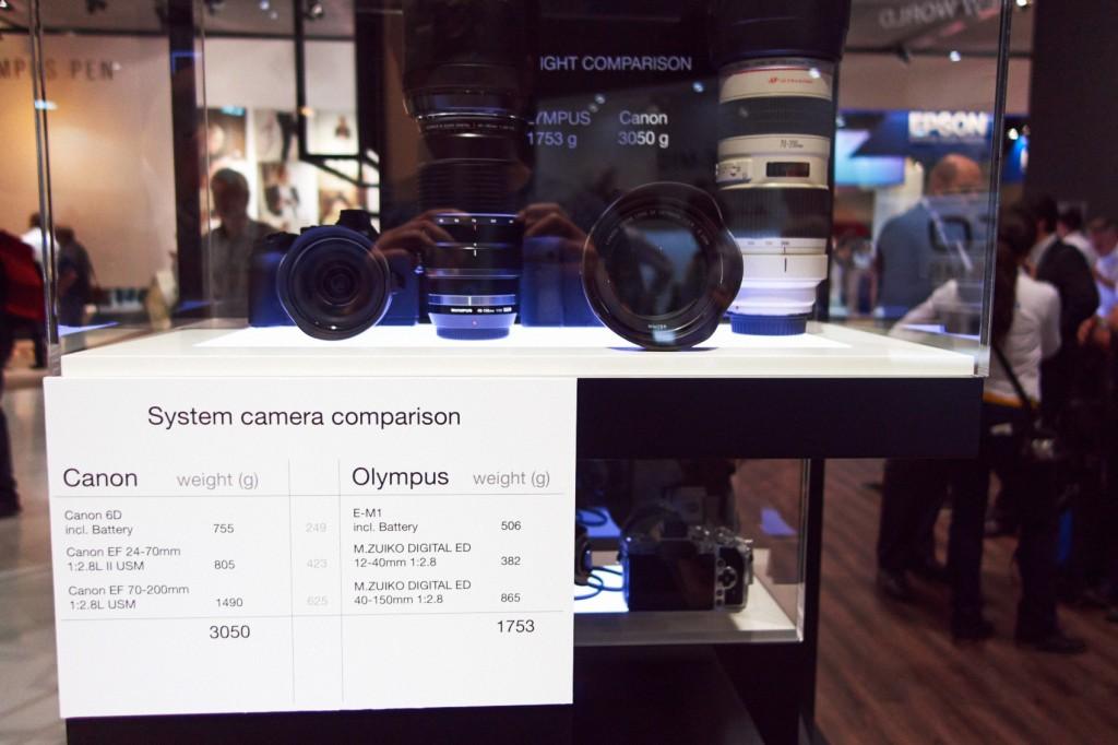 Spiegelreflex- und OM-D System im Vergleich