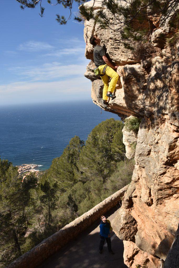 Impressionen vom Sportklettern auf Mallorca.