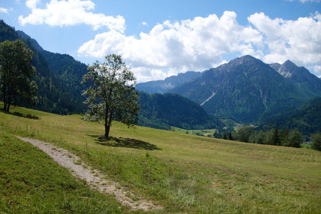 Impressionen von meiner allerersten Transalp von Oberstdorf nach Riva