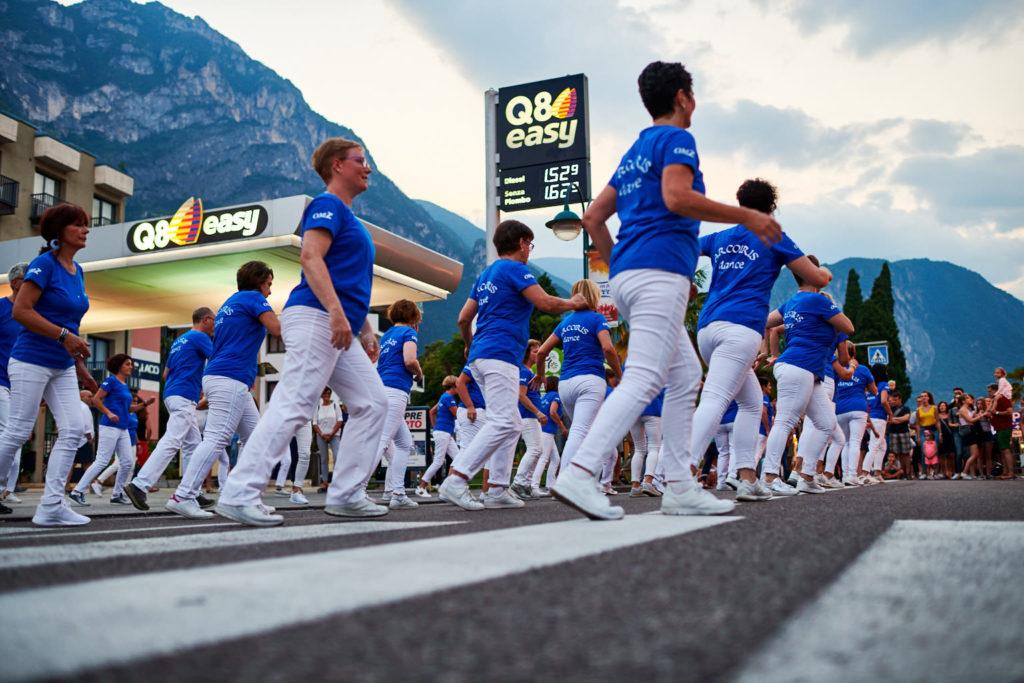 Straßenfest in Riva del Garda