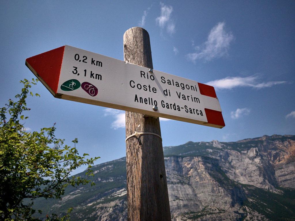 Auf dem Weg zum Klettersteig Rio Sallagoni