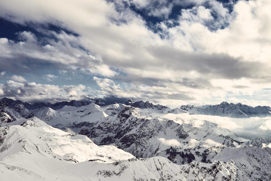 Gipfelblick am Nebelhorn