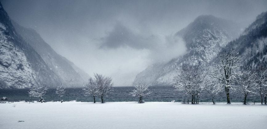 Unterwegs am Königssee im Winter